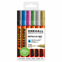 ONE4ALL™ 127HS 2mm 6x - Metallic-Set - Clearbox