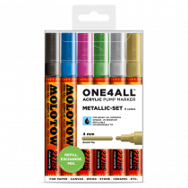ONE4ALL™ 227HS 4mm 6x - Metallic-Set - Clearbox