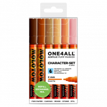 ONE4ALL™ 127HS 2mm 6x - Character-Set - Clearbox