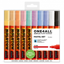 ONE4ALL™ 227HS 4mm 10x - Pastel-Set - Clearbox