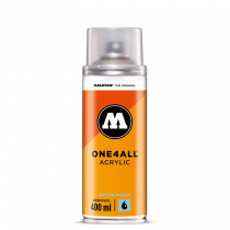 ONE4ALL™ UV-Clear Coat Acrylic PU waterbased 400ml