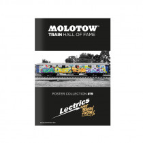 "MOLOTOW™ Train Poster #19 ""LECTRICS"""