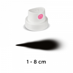 "Cap ""SuperFat"" (white/pink)"